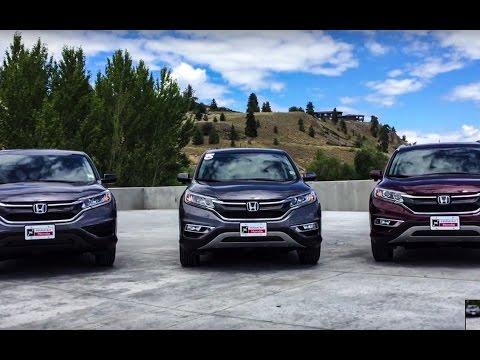 NEW 2016 Honda CR-V LX vs. EX-L comparison - Harmony Honda - Kelowna, BC