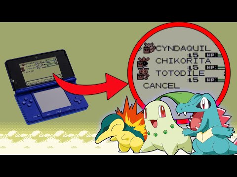 Pokemon Gold and Silver 3DS (VC): How to get all 3 Johto Starters without Trading!