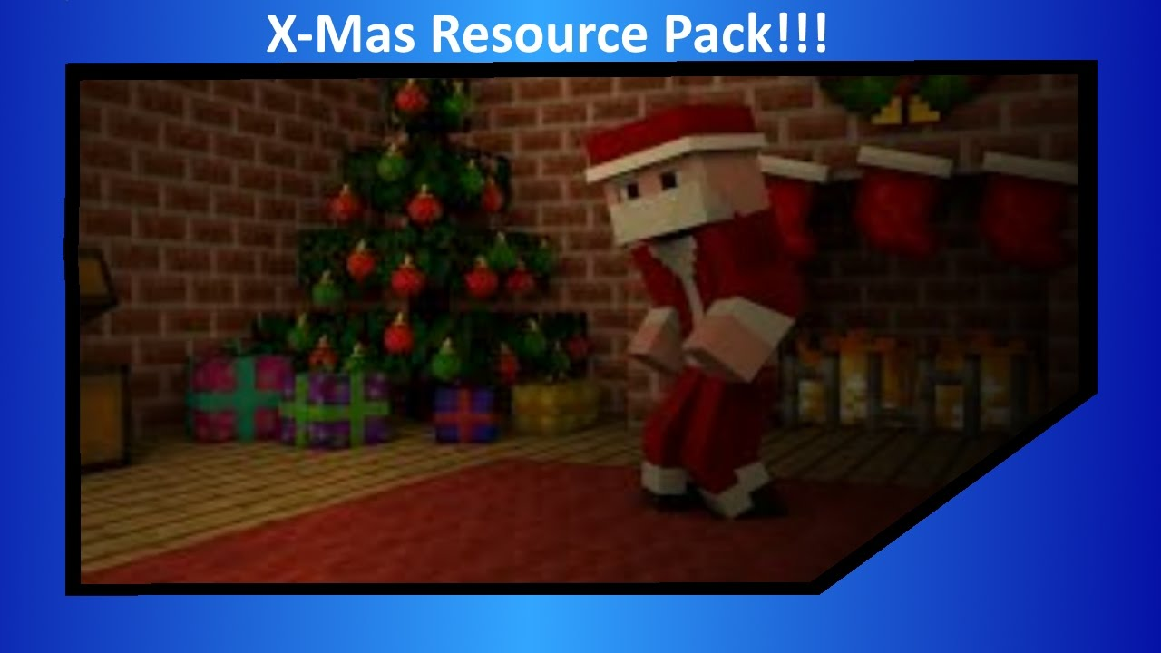 Minecraft: Christmas Texture Pack - Christmas PvP Texture Pack - YouTube