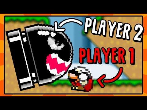 Player 2 Controls The Enemies!   Super Mario World Rom Hack