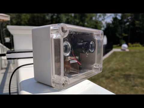 DIY Indoor/Outdoor WiFi Webcam with a Raspberry Pi - YouTube