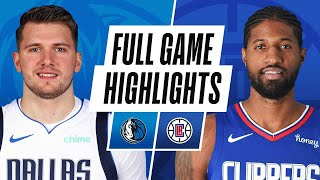 LA Clippers vs Dallas Mavericks | December 27, 2020