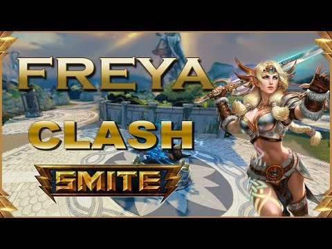 SMITE! Freya, Las builds aqui no importan :S! Clash #47