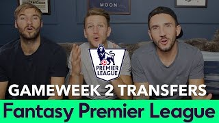 Fantasy Football - Gameweek 2 2018/2019