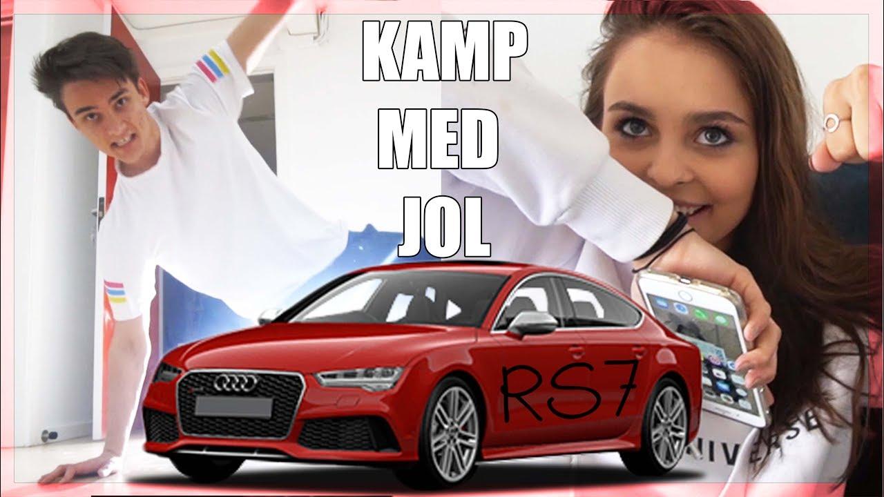 Kamp med Jol, Audi RS7 og Mit nye værelse - Husum FlytteVlog 3