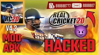 How To Hack  Real Cricket 20  !!!!!! Link In Discription