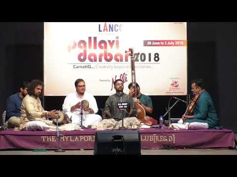Grand Pallavi Darbar spl Concert  l Abhishek Raghuram l Carnatica & Sri Parthasarathy Swami Sabha