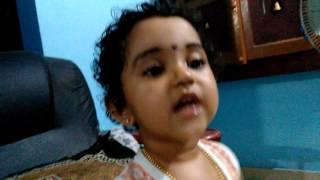 Krishna singing unni vavavo