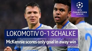 Lokomotiv Moscow vs Schalke (0-1) UEFA Champions League Highlights