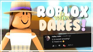 ROBLOX DARES PART 1! | OkayLilly
