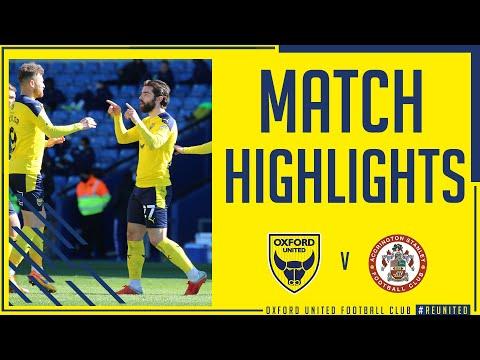 Oxford Utd Accrington Goals And Highlights