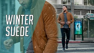 How to Wear Suede in Winter ||…