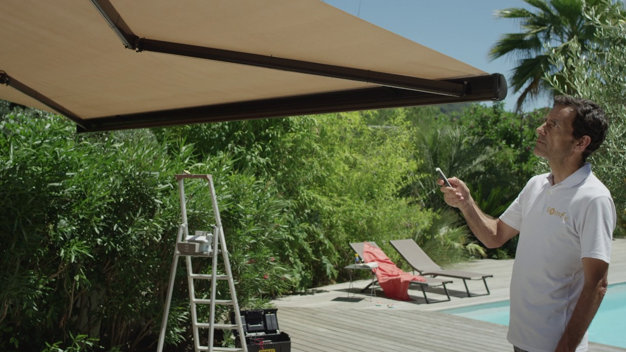 SOMFY 3D SENSOR for Motorized Wireless Awnings -RTS ...