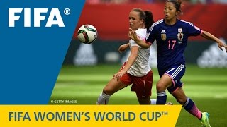 HIGHLIGHTS: Japan v. Switzerland - FIFA Women's World Cup 2015(Canada 2015: The Japanese held on in a tough battle against the Swiss. FIFA Women's World Cup Match HIGHLIGHTS: ..., 2015-06-09T04:24:18.000Z)