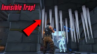 'New' INVISIBLE TRAPS glitch in Fortnite (Insane glitch) Fortnite Glitches Saison 7 PS4/Xbox one