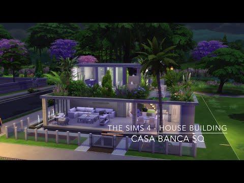 The Sims 4 - House Building - Casa Banca SQ