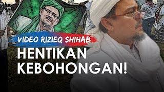 Rizieq Shihab ke Reuni 212: Saya Minta kepada Pemerintah Indonesia Akhiri Segala Kebohongan