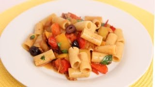 Rigatoni Peperonata Recipe - Laura Vitale - Laura in the Kitchen Episode 561