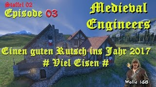 Staffel 2_03 # Survival # Medieval Engineers # Viel Eisen #