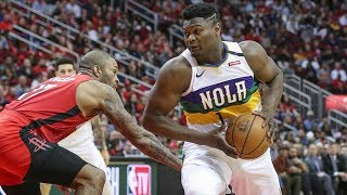 Lonzo Full Court Lob to Zion Williamson! Harden 40 Pts! 2019-20 NBA Season