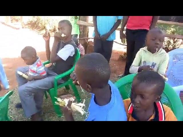Sugar Cane and Prayer for Children in Western Kenya