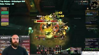 Anger Management AoE Fury?! (Tol Dagor +15 - 76k DPS) - WoW BFA 8.3 Mythic+ Dungeon