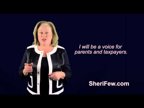 Sheri Few   for Superintendent of Education