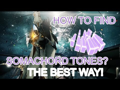 Warframe Somachord Tones - how to unlock Orbiter music in Personal Quarters [Spoilers!]