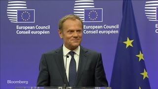 What Doesn't Kill You Makes You Stronger, Says Tusk