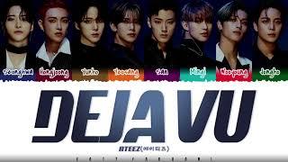 Download ATEEZ (에이티즈) - 'Deja Vu' Lyrics [Color Coded_Han_Rom_Eng]
