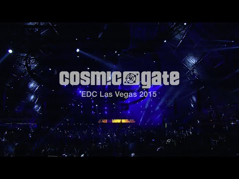 Cosmic Gate EDC Las Vegas 2015