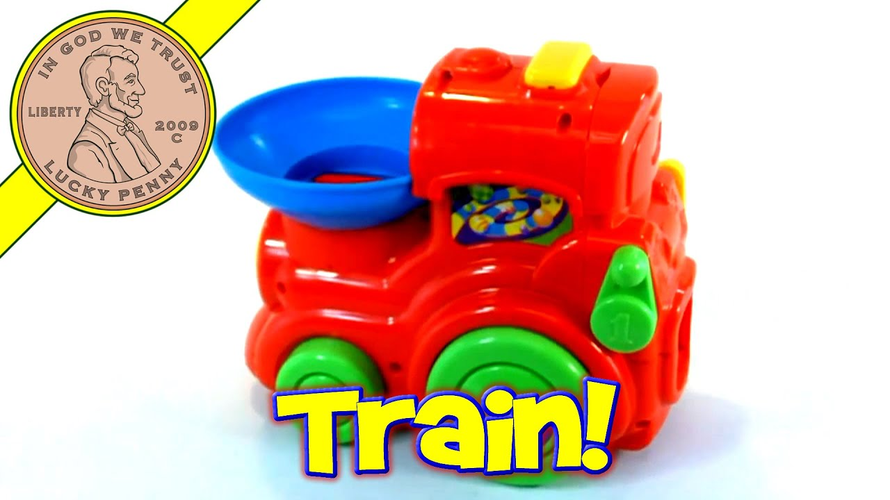 Best Ball Popper Toys For Kids : Playskool busy basics ball choo train electronic