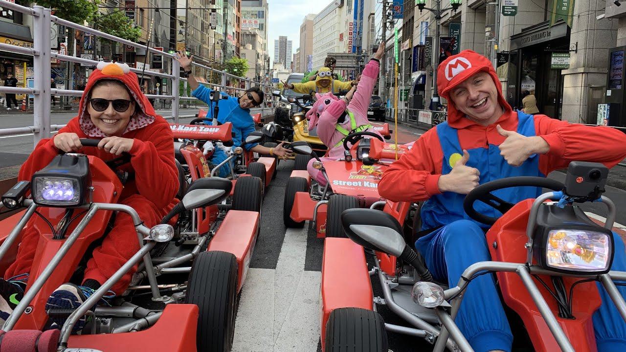 Street Go-Kart Tour in Tokyo, Japan