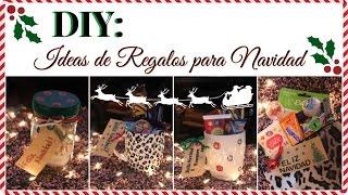 DIY: 4 Ideas de regalo para Navidad Thumbnail
