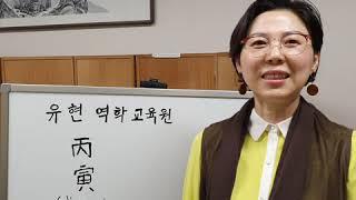 사주팔자ㆍ일주론 병인  유현역학교육원  음양개념