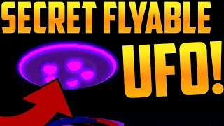 MAD CITY SECRET FLYABLE UFO! -Roblox
