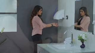 Automatic Hand Dryer 1800W - With LED White video