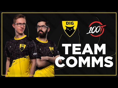 THIS TEAM COMP IS BROKEN | DIG vs 100T | Team Comms | LCS Spring 2020