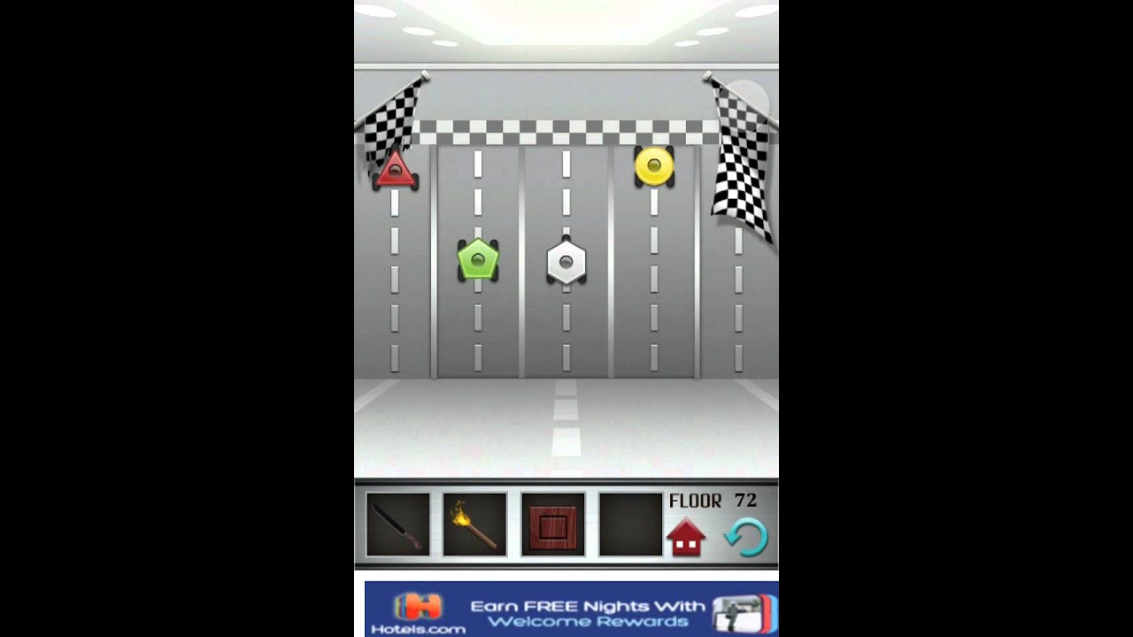 Floor 72 100 Floors Game Walkthrough Level Solutions Apple And Android Youtube