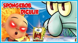 THE ANGER IS GREAT!! SPONGEBOB KIDNAPPED Mr. SQUIDWARD-ROBLOX UPIN IPIN