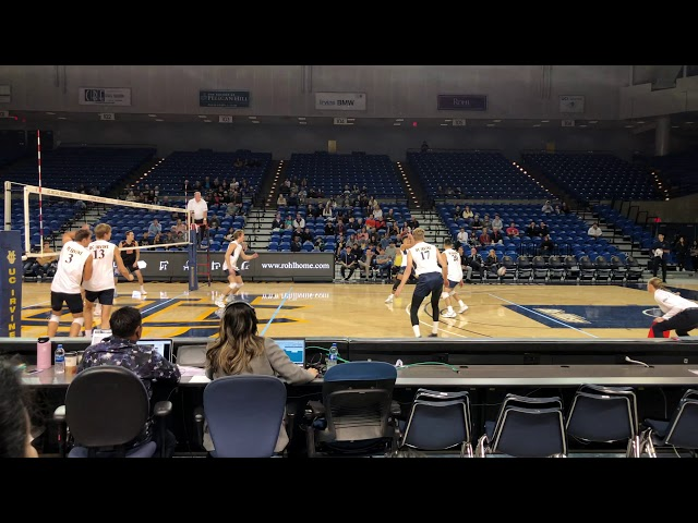 MEN's Volleyball UCI vs Princeton NCAA 2020
