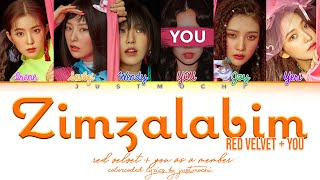 RED VELVET 레드벨벳  짐살라빔 Zimzalabim 6 Members ver Color Coded L…