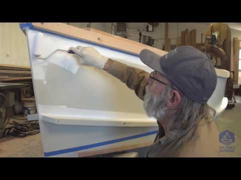 Building the TotalBoat work skiff - Painting on the wet edge (Episode 33)