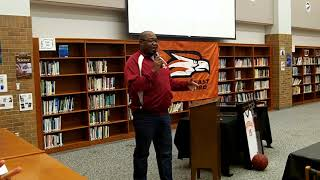 Video Fred Whitfield jersey retirement ceremony at Southeast Guilford HS on 1/15/18 download MP3, 3GP, MP4, WEBM, AVI, FLV Agustus 2018