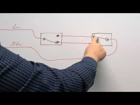 Lighting Circuits Part 2 - Wiring Multiple Switches, 2 way a