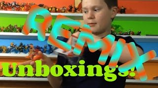 Unboxing REMIX of Skylanders Trap Team! (as of 1/26/2015)