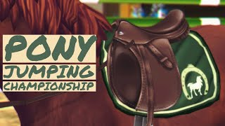 PONY SJ CHAMP ONSH PS - 5 Pony Jump Off Star Stable Online Realistic Roleplay