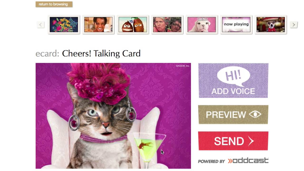 How To Send An Ecard With American Greetings Youtube