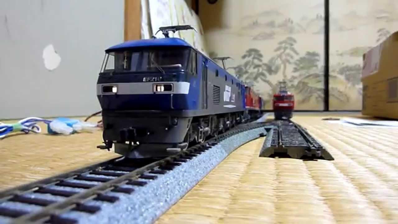 【鉄道模型】HOゲージ電気機関車の駆動音 - YouTube
