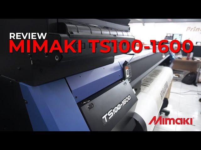Printmate Luncurkan Mimaki TS100 - 1600, Mesin Cetak Sublimasi Untuk Entry Level